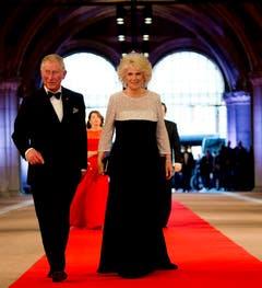 Der britische Prinz Charles und seine Ehefrau Camilla, Herzogin von Cornwall. (Bild: Keystone)