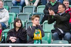 Für die Fans aus Russland gab es wenig Erfreuliches. (Bild: Michel Canonica)