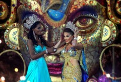 Queen of Carnival coronation ceremony kicks off the celebrations in Panama (Bild: Keystone)