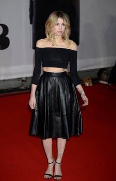 Peaches Geldof auf dem roten Teppich bei den Brit Awards 2014 in London, am 19. Februar. (Bild: Keystone)