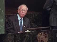 Premier Yitzhak Rabin. (Bild: Keystone)