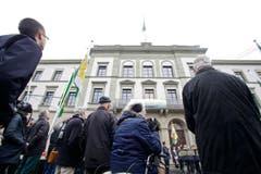 Auch von aussen eine Pracht - das sanierte Regierungsgebäude. (Bild: Donato Caspari)