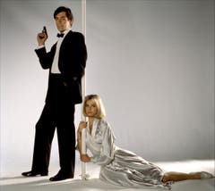 Neuer Bond, neues Bond-Girl: Timothy Dalton und Maryam d'Abo alias Kara Milovy in «The Living Daylights» (1987). (Bild: pd)