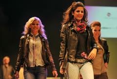 Ladina Dörig, Natalie Brändle und Mirjam Signer (von links). (Bild: Reto Martin)