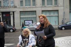Die Rednerinnen der Rechten wurden von den Linken gestört. (Bild: Ralph Ribi)