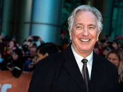 Alan Rickman wurde 1946 in London geboren. (Bild: Keystone)