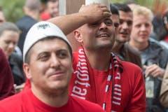 Albanische Fans. (Bild: Keystone)