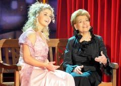 Ein Bild aus früheren Jahren: 2007 sang Beatrice Egli mit Lys Assia im Duett. (Bild: Keystone)