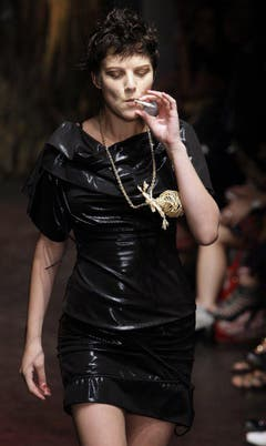 Fashion Week in London, 2009. (Bild: Keystone)