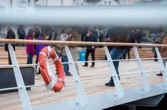 Maritimes Flair an der neuen Hafenpromenade. (Bild: Reto Martin)