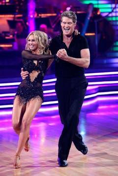 Im Jahr 2010 nahm David Hasselhoff an einer TV-Tanzshow teil. (Bild: Keystone)