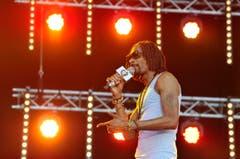 Ebenfalls einer der grossen Namen am Open Air Frauenfeld: Snoop Lion (ehemals Snoop Dogg). (Bild: Reto Martin)