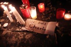"""Der Slogan """"Je suis Charlie"""" ging um die Welt. (Bild: Keystone)"""