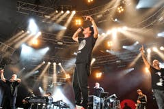 Rap made in Germany gab es von den Fantastischen Vier. (Bild: Donato Caspari)