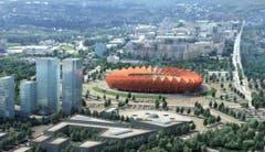 Saransk (300'000 Einwohner)Stadion: Mordowia ArenaKapazität: 45'015Kosten (Neubau): ca. 300 Mio. FrankenEröffnung: noch im BauKlub: Mordowia Saransk (3. Liga)WM-Spiele: Gruppenphase (4) (Bild: Handout Fifa)