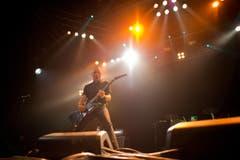 Danko Jones, Frontmann der gleichnamigen kanadischen Rockgruppe. (Bild: Benjamin Manser)