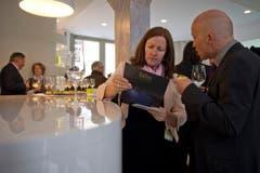 Im Rahmen des Auftakts wurde auch das Besucherzentrum eröffnet. (Bild: Benjamin Manser)