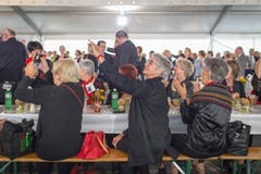 Gesangsfest (Bild: Benjamin Manser)