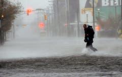 Nasser Spaziergang in Atlantic City. (Bild: Keystone)