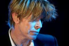 Gern gesehener Gast: In Montreux hatte David Bowie nicht nur ein Haus, sondern trat auch am Jazz Festival auf (2002). (Bild: Keystone)