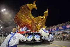Carnival parade in Sao Paulo (Bild: Keystone)