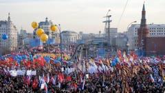 RUSSIA CRIMEA ONE YEAR ANNVERSARY (Bild: Keystone)