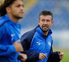 Mit Ricardo Rodriguez trainierte Urs Fischer beim FC Zürich eine Zeitlang ein Riesentalent - Rodriguez spielt mittlerweile in der Bundesliga bei Wolfsburg. (Bild: Keystone)