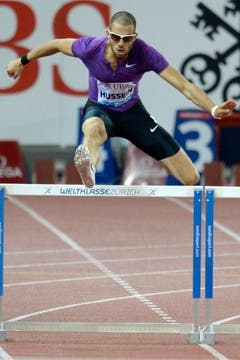 Die Hürden sind seine Welt: Kariem Hussein. (Bild: Keystone)