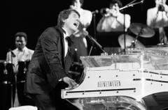 Auftritt vom 12. April 1987 im Hallenstadion. (Bild: Keystone)