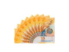 Ab dem 18. Oktober 2017 ist die neue 10-Franken-Note in Umlauf. (Bild: Keystone/SNB)