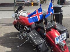 Die isländische Nati ist in der Heimat omnipräsent. (Bild: Marion Loher)