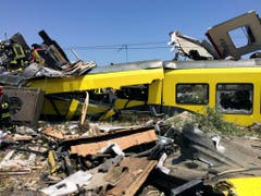 APTOPIX ITALY TRAIN CRASH (Bild: Keystone)