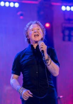 Mick Hucknall ist Frontmann der Britischen Band. (Bild: Reto Martin)