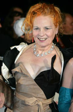 Vivienne Westwood im Oktober 2005 in Monaco. (Bild: Keystone)