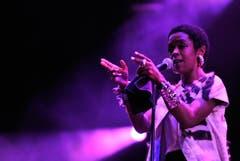 Lauryn Hill zieht ihr Publikum in den Bann. (Bild: Reto Martin)
