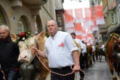 Solthurner Landwirtschaft mit Kühen und Schafen (Bild: Ralph Ribi)