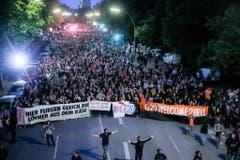 G20-Gipfel - Wellvome to Hell Demo (Bild: Keystone)