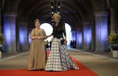 Die holländische Prinzessin Christina (links) und ihre Schwester Prinzessin Irene. (Bild: Keystone)