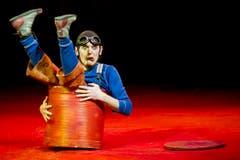 Komik-Akrobat Barto. (Bild: Keystone)
