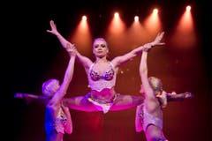 Die ukrainische Gruppe Trio Bellisimo, Teil des neuen Zirkus-Knie-Programms. (Bild: Keystone)