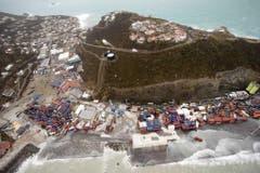 Philipsburg auf der Insel St.Maarten, nachdem der Hurrikan Irma über die Insel gefegt ist. (Bild: GERBEN VAN ES/DUTCH DEPARTMENT OF DEFENSE)