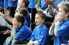 Das Bangen und Hoffen der Amriswiler Fans zahlte sich aus. (Bild: Rita Kohn)
