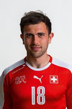 Admir Mehmedi: 3,5. Er rackert und hilft defensiv mit. Aber der Offensivspieler bringt nach vorne nichts zu Stande. (Bild: Keystone)