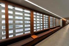 Das Gebäude ist nach ökologischen Grundsätzen konzipiert. (Bild: Hanspeter Schiess)