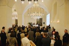 Festlicher Rahmen in der Kartause Ittingen. (Bild: Reto Martin)