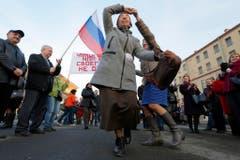 RUSSIA CRIMEA ONE YEAR ANNIVERSARY (Bild: Keystone)