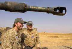 """""""Chuck Norris hat das Tote Meer erschossen."""" (Bild: Keystone)"""