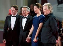 Rickman (rechts) am Filmfestival in Venedig. (Bild: Keystone)