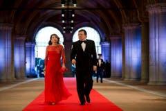 EU-Kommissionspräsident Jose Manuel Barroso mit Ehefrau Maria. (Bild: Keystone)