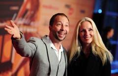 DJ Bobo mit seiner Gattin Nancy Baumann. (Bild: Keystone)